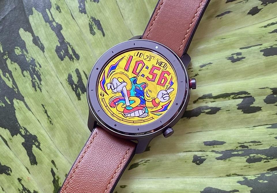 đánh giá đồng hồ thông minh amazfit GTR