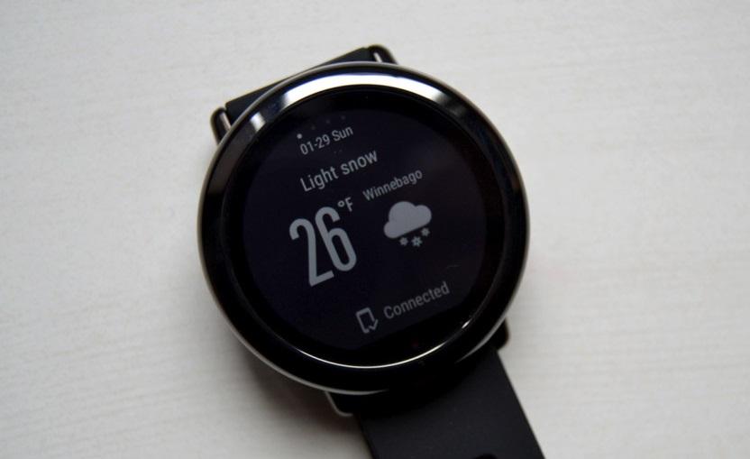 đánh giá đồng hồ thông minh amazfit pace